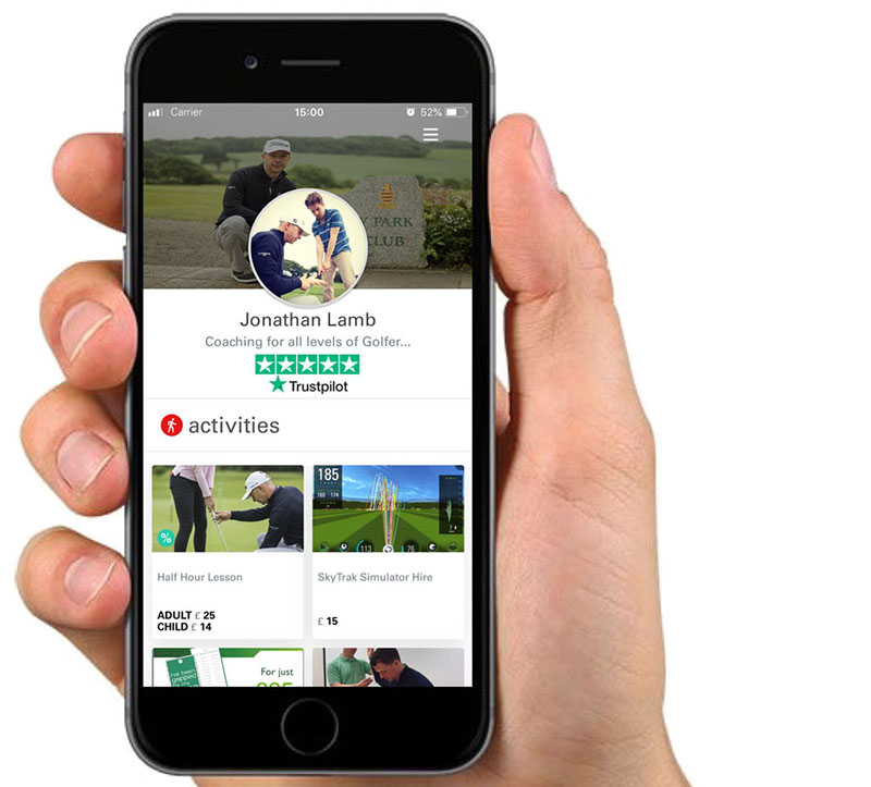 fibodo adds Trustpilot reviews for golf coaches to grow their  businesses and increase participation